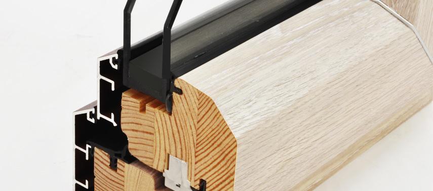 Ventanas de madera-aluminio